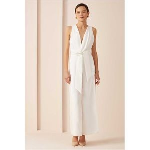 Keepsake the label white jumpsuit